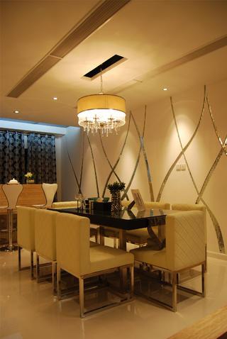 现代风格别墅装修餐厅设计图