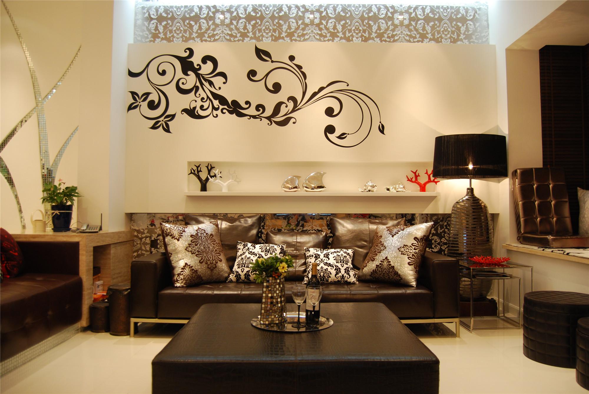 现代风格别墅装修客厅搭配图