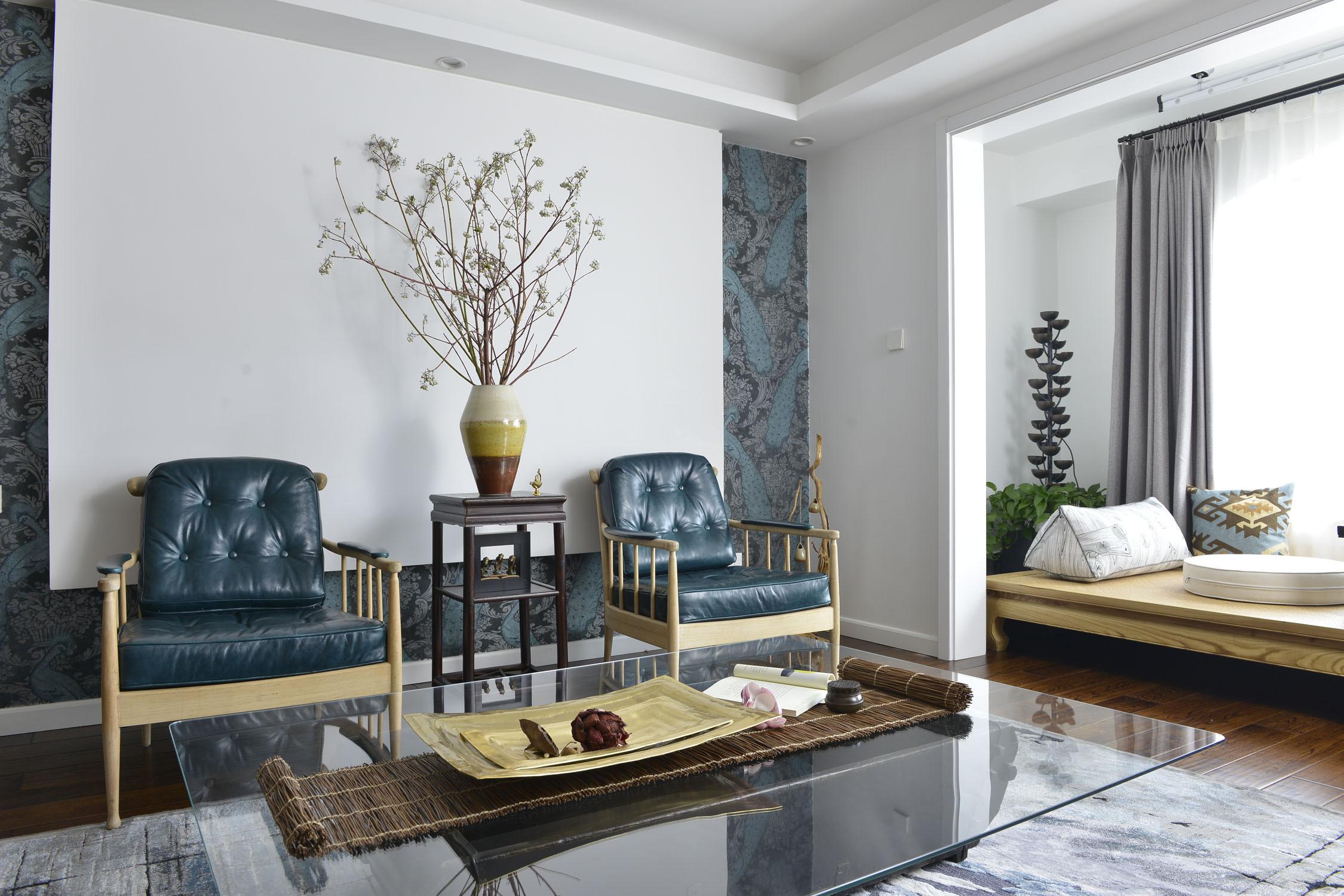 120平混搭风格家沙发椅图片