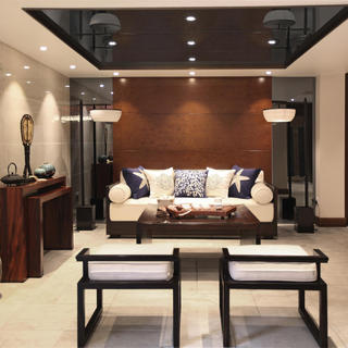 新中式别墅装修设计 简约素雅