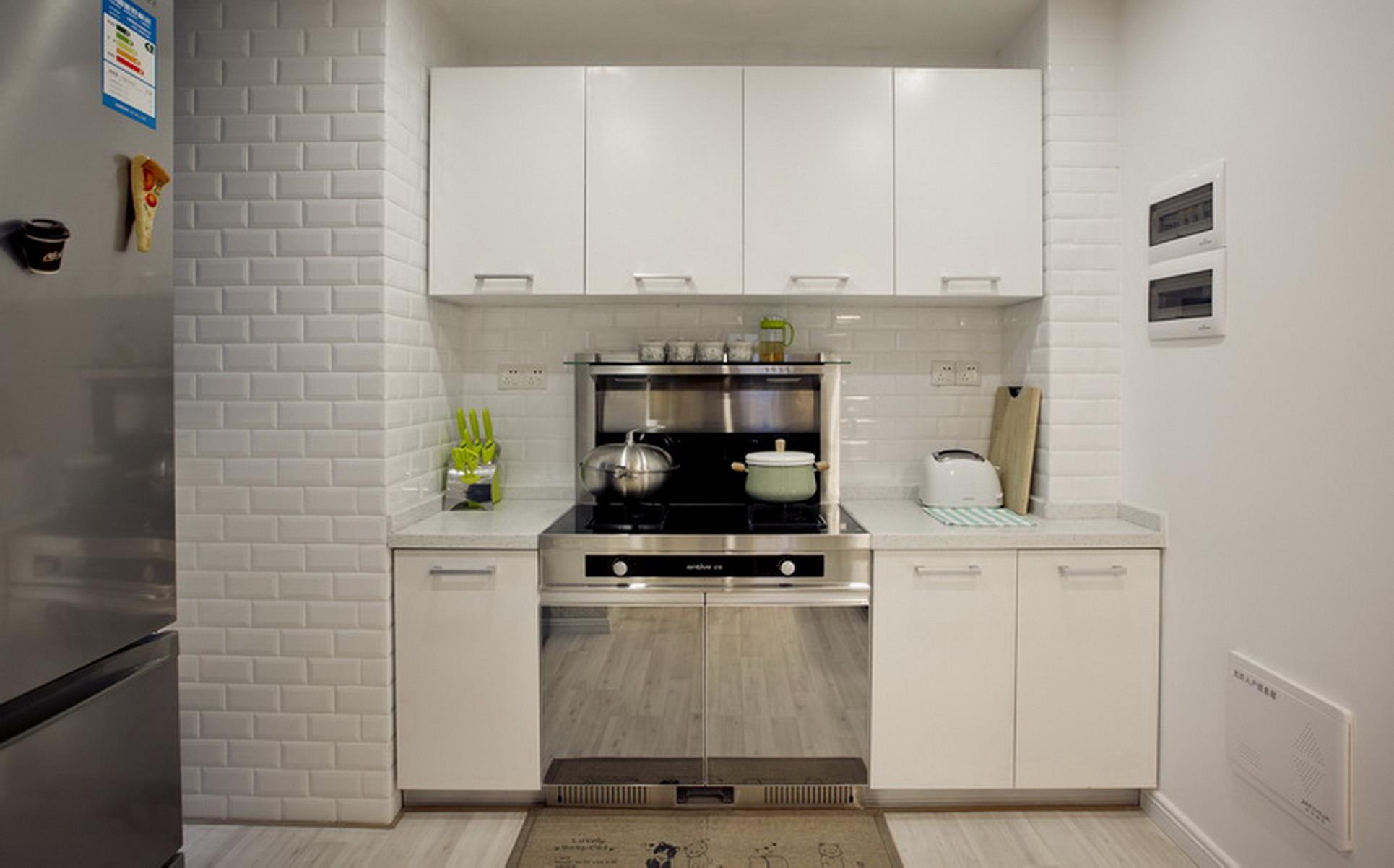 北欧风二居之家厨房设计图