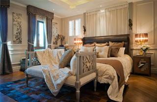 欧式别墅装修卧室搭配图