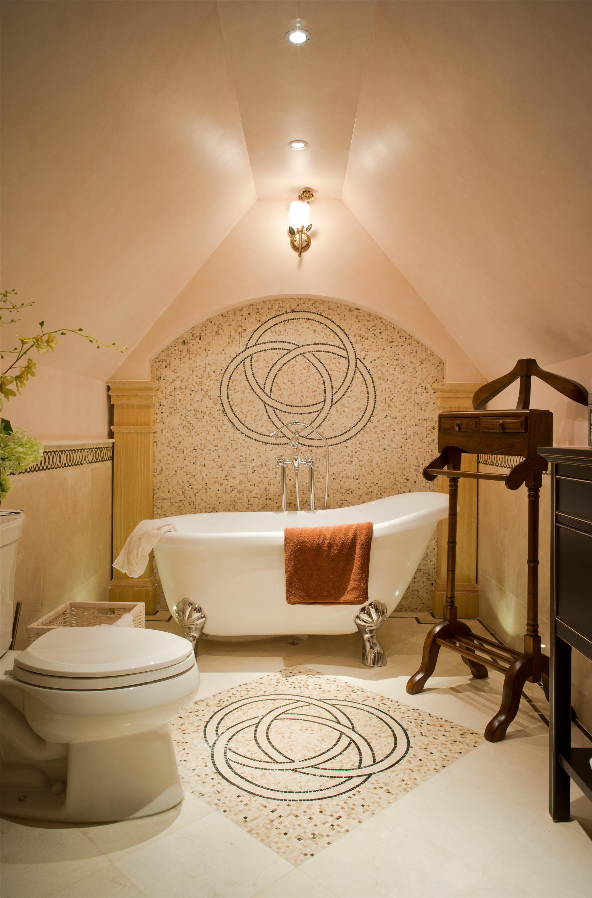 欧式别墅装修卫生间设计图