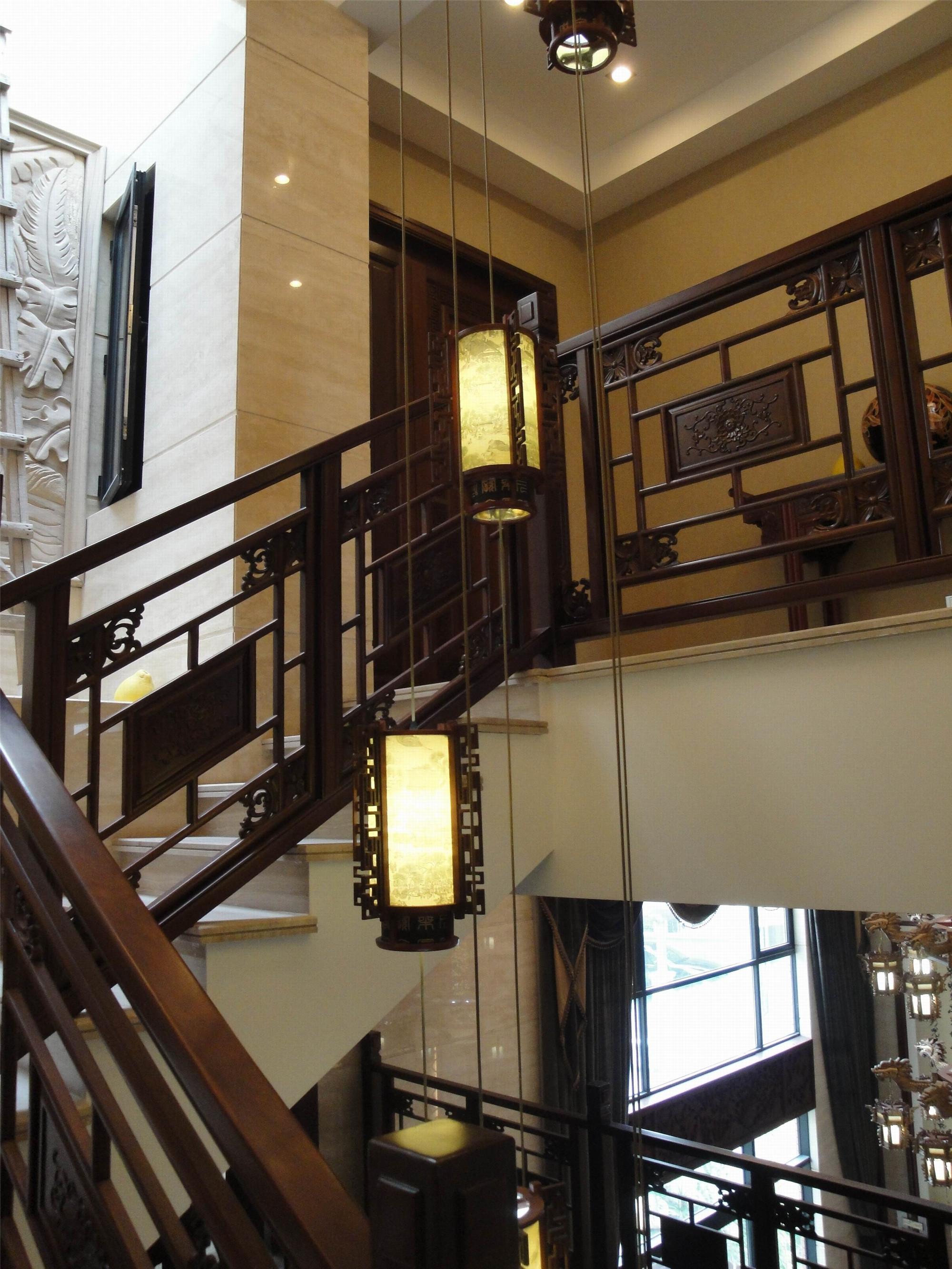 古典中式别墅装修灯饰设计
