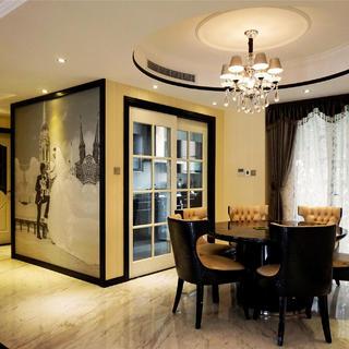 140㎡三居装修设计 舒适有品位