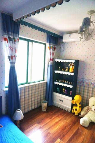 120平地中海之家窗帘图片