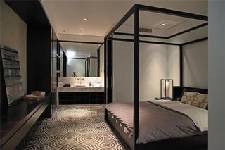 中式样板间装修卧室设计图