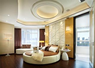 现代样板房卧室设计图