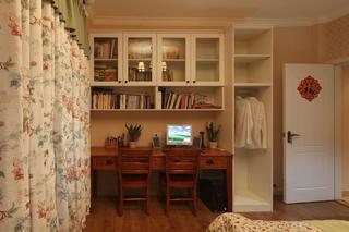 小户型美式两居装修书桌图片