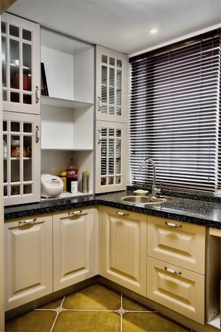 大户型中式风格家厨房构造图