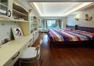 简美三居装修儿童房设计图