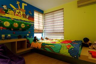 130平现代简约装修儿童房设计图