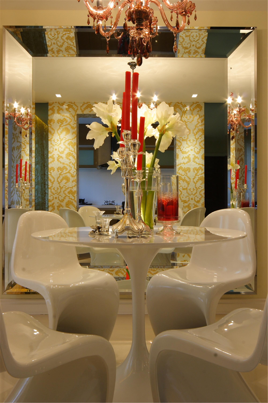 130平现代简约装修餐厅效果图
