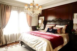 大户型现代风格装修卧室布置图