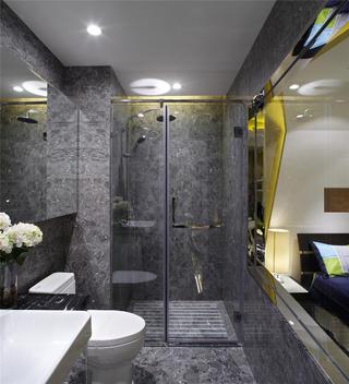 小户型公寓装修卫生间效果图