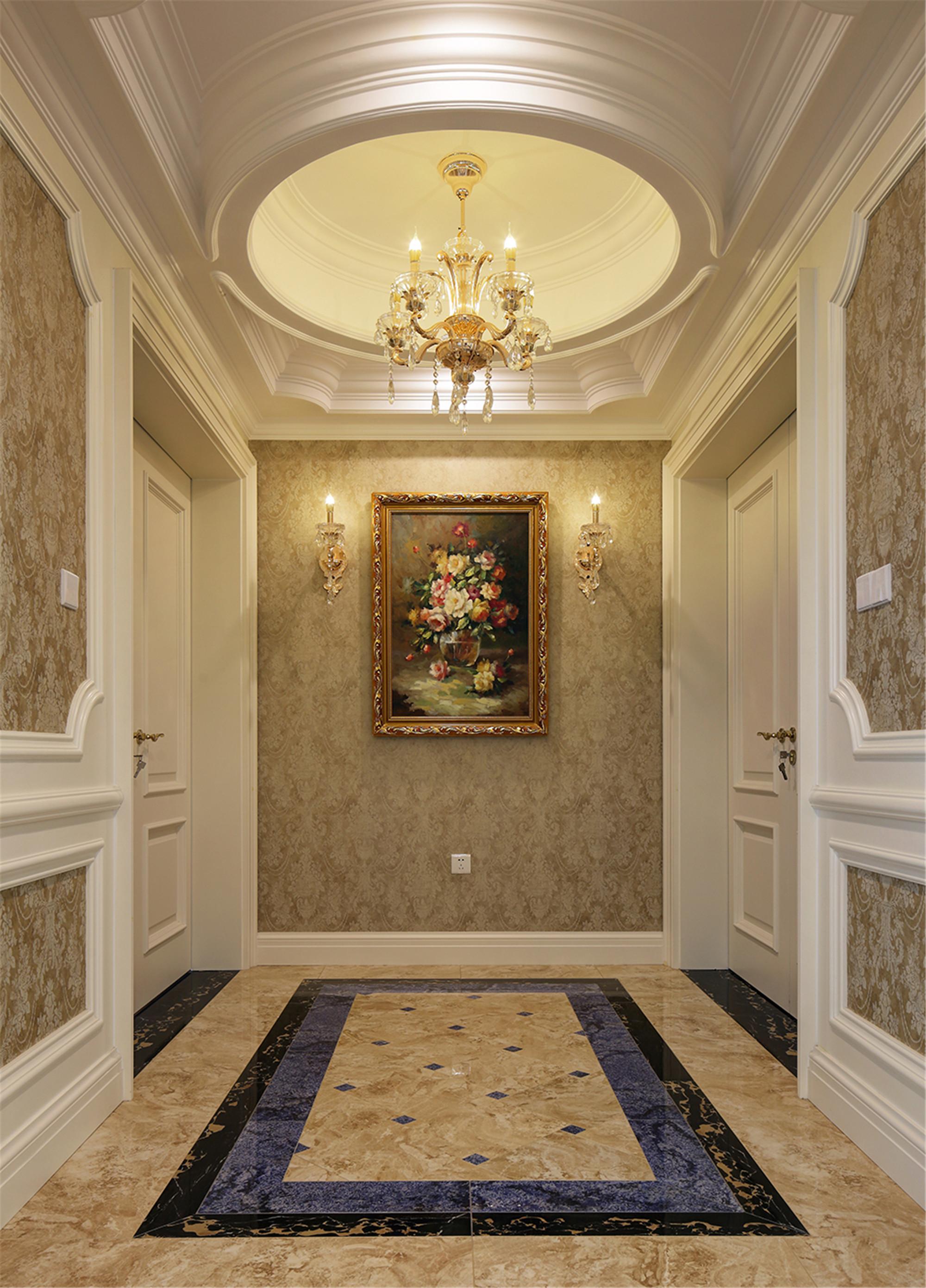 欧式别墅装修门厅设计图