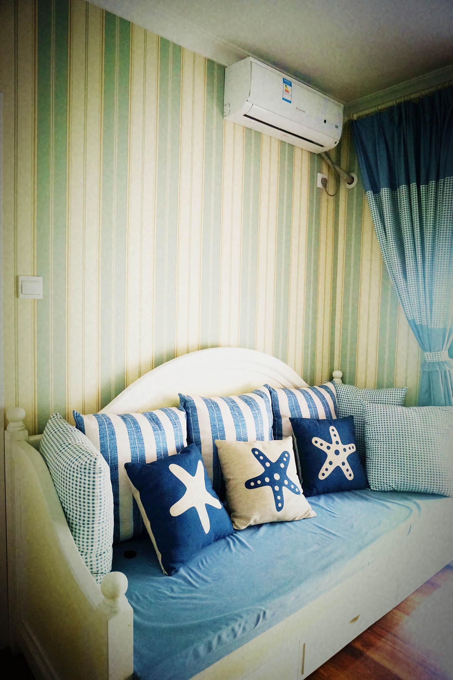 120平地中海之家沙发床图片