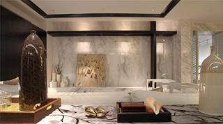 中式样板间装修装饰摆件布置