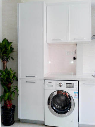 40平小户型简约装修洗衣区
