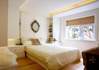 110平简欧装修卧室设计图