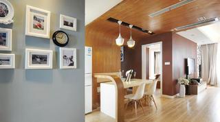 125㎡现代风格家照片墙