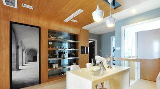 125㎡现代风格家餐厅背景墙图片