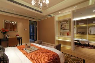 新古典别墅装修卧室一角