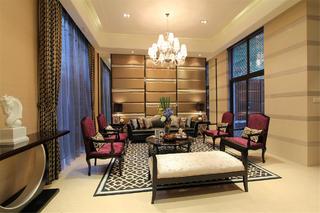 新古典别墅装修客厅设计图