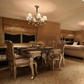 二居室欧式风格家 雍容华贵