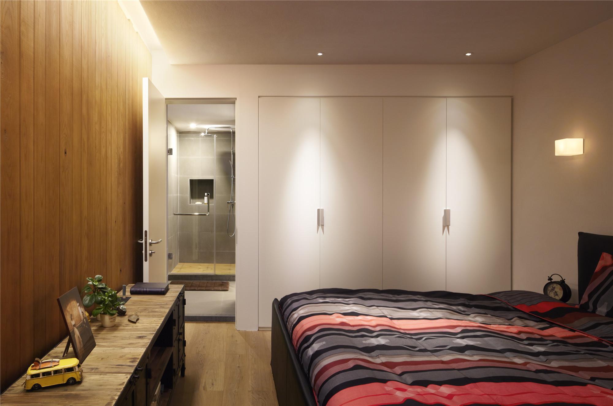 简约二居装修卧室设计图