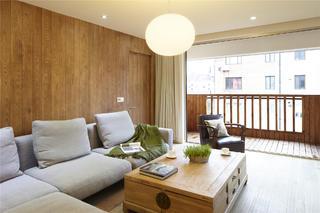 简约二居装修沙发背景墙图片