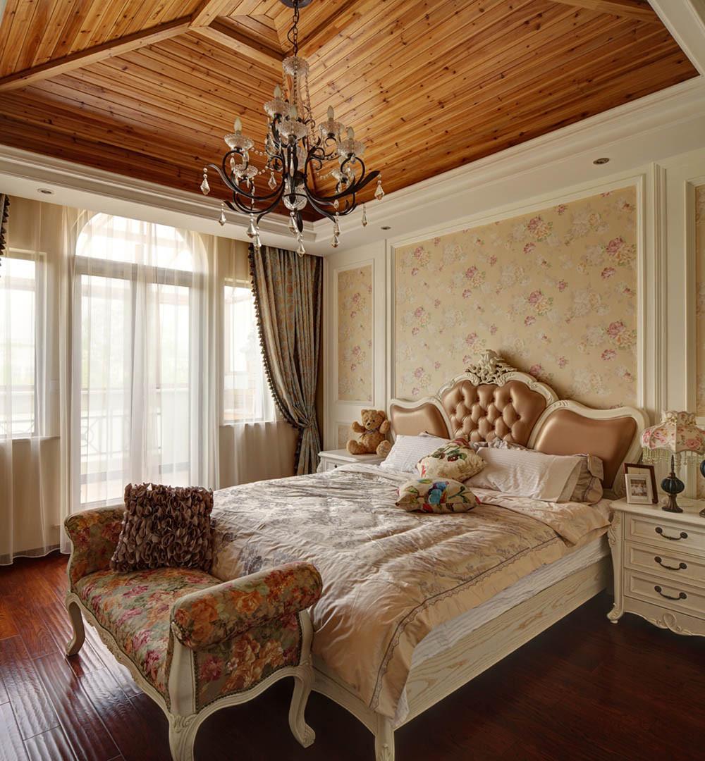 欧式风格别墅装修卧室设计图