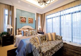 复式别墅装修卧室布置图