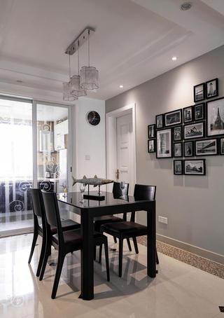 120平现代简约家餐桌图片