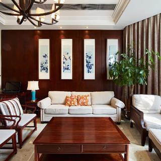 四居室中式风格家 古色古香