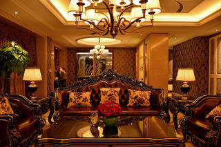 新古典裝修客廳設計圖