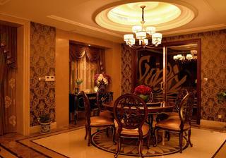 新古典裝修餐廳設計圖