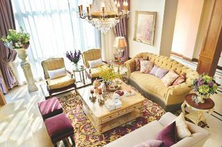 法式别墅装修沙发图片