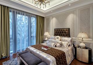法式别墅装修卧室布置图
