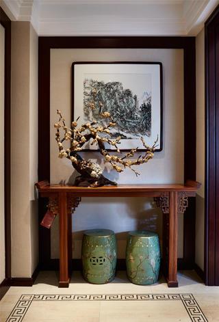 大户型中式之家玄关欣赏