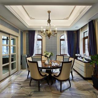美式新古典别墅装修效果图