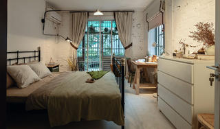 混搭二居室卧室设计图