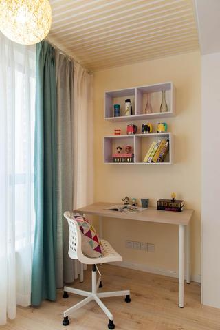 70平北欧之家书桌图片