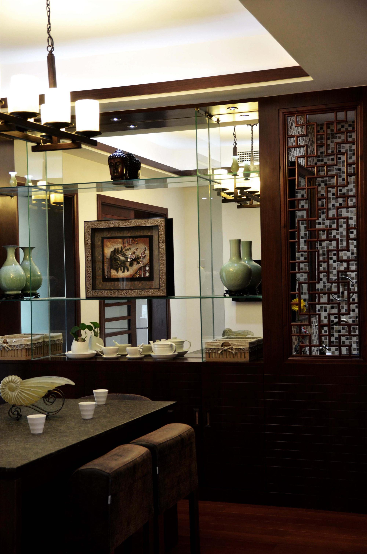 中式风装修餐厅设计图