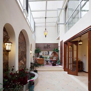 大户型美式家阳光房设计