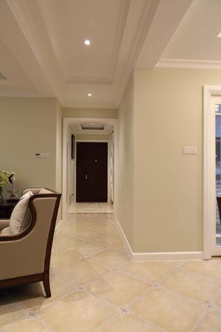 170平美式风格装修走廊图片
