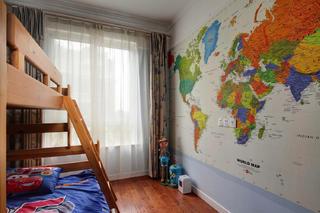 美式风格别墅设计儿童房布置图