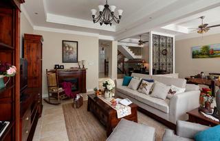 美式风格别墅客厅设计图