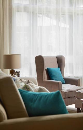 美式風格別墅設計沙發圖片