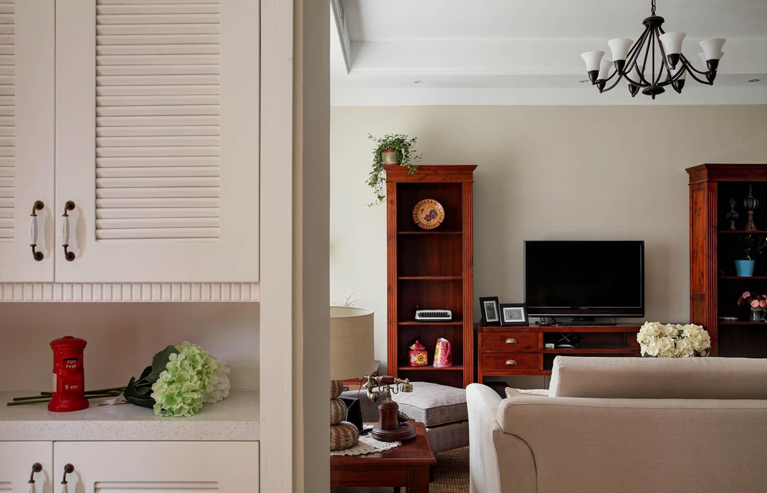 美式风格别墅鞋柜图片